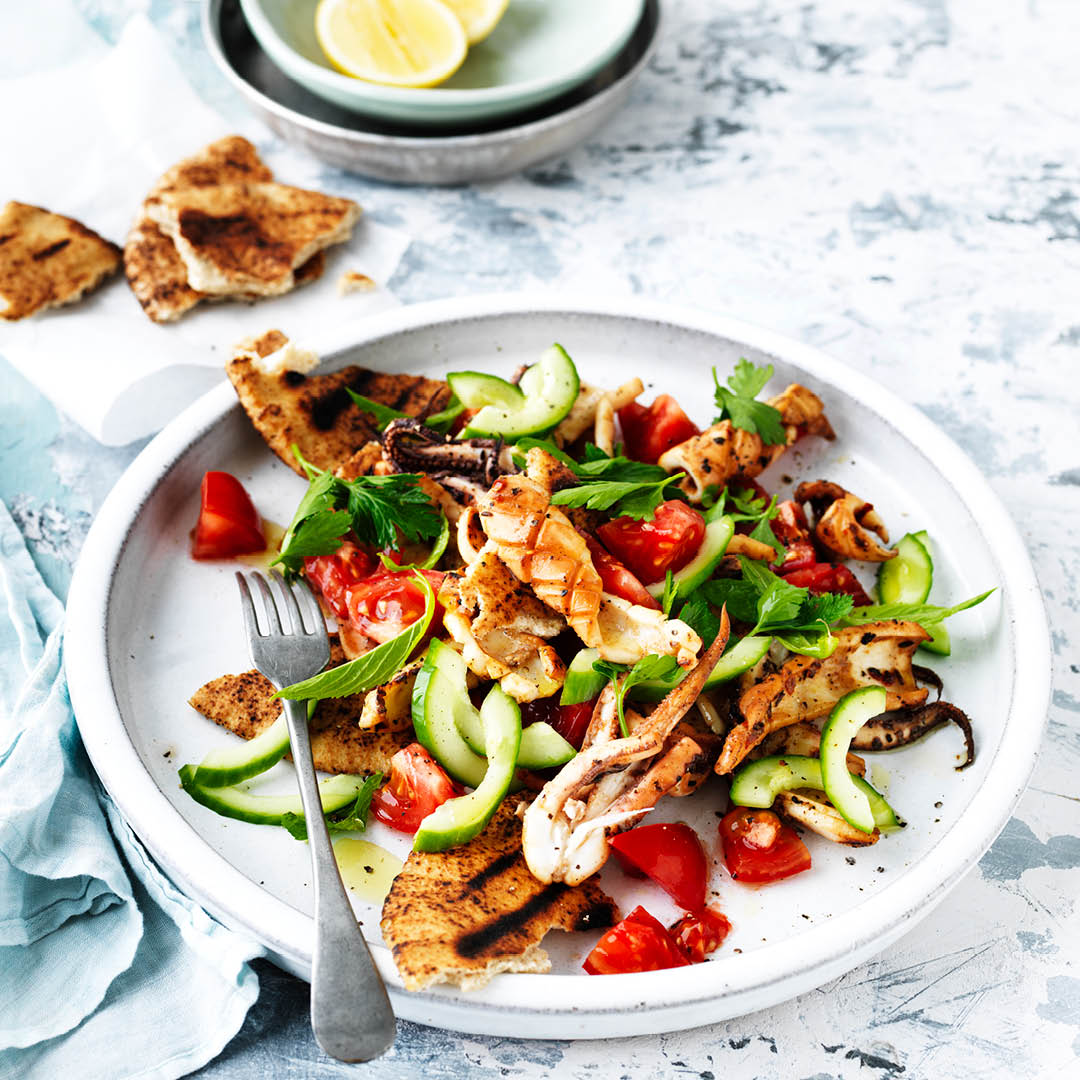 CH4622_Easter Recipes_BBQ calamari salad