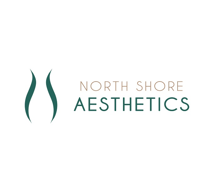 612_North Shore Aesthetics Logo_Landscape_Colour